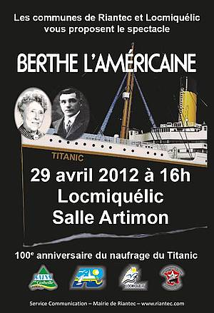 Spectacle Berthe l'Américaine